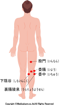 膝 関節 痛 ツボ
